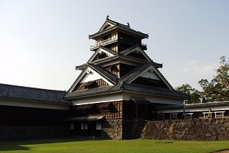 Picture of Kumamoto Castle in the Kyushu region