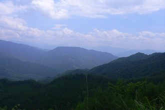 Photo of the mountains in Gifu